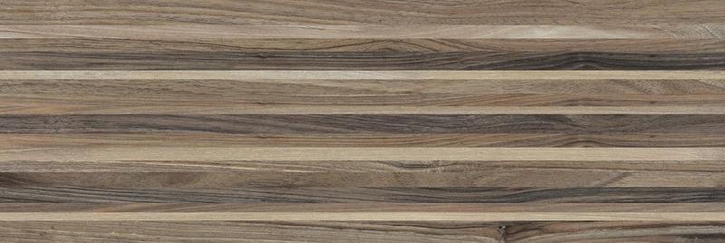 Керамическая плитка Laparet Zen полоски коричневые 60030 настенная 20х60 см цены