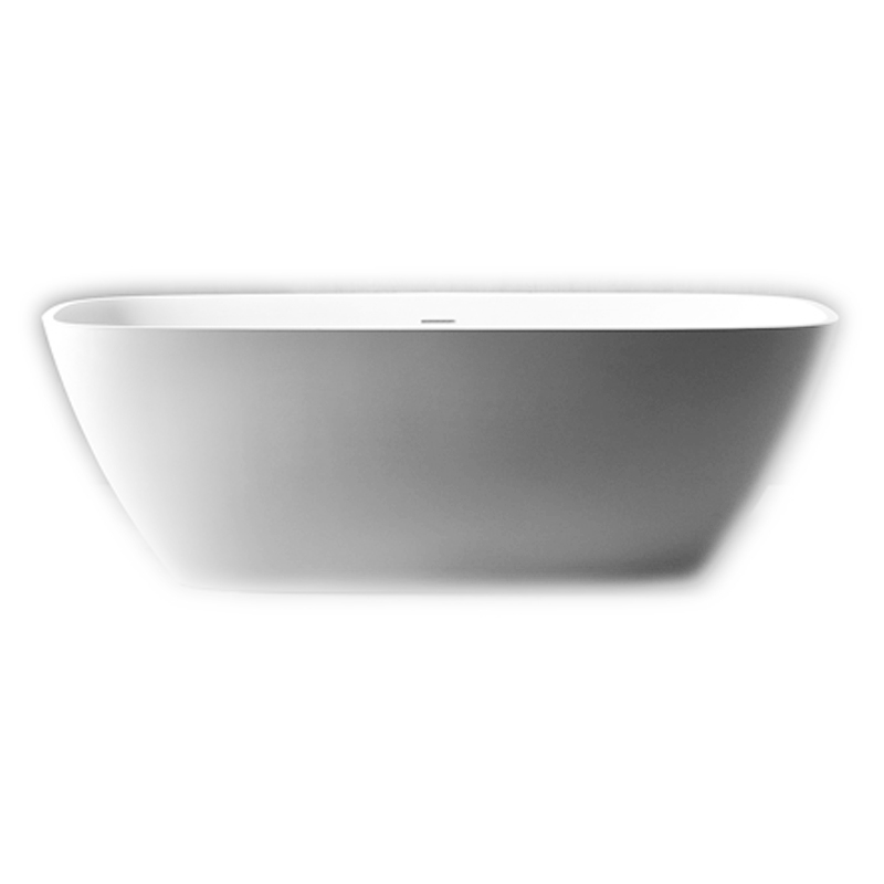 Ванна из искусственного камня NT Bathroom NT202 170х72 без гидромассажа ванна из искусственного камня nt bathroom nt305 165х80 без гидромассажа