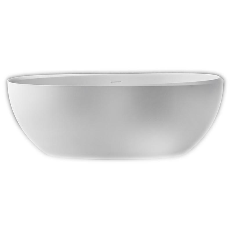Ванна из искусственного камня NT Bathroom NT204 160х70 без гидромассажа ванна из искусственного камня nt bathroom nt305 165х80 без гидромассажа