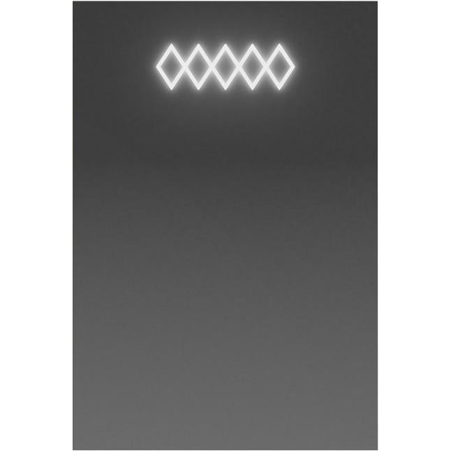 Зеркало Smile Торус 50 с подсветкой с кнопочным выключателем с розеткой