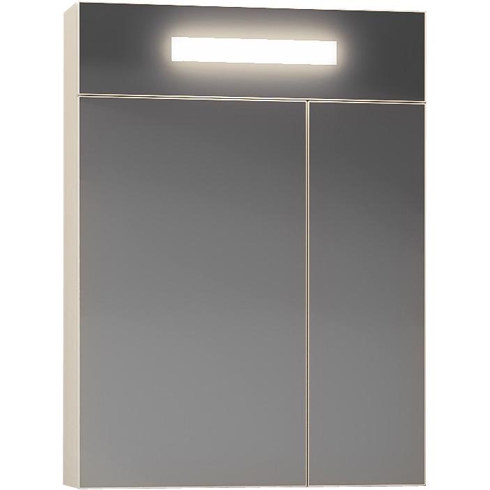 Зеркальный шкаф Smile Фреш 60 Z0000010395 с подсветкой Белый