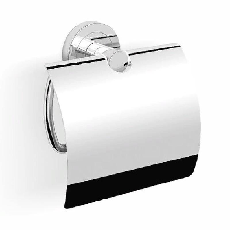 Фото - Держатель туалетной бумаги Langberger Burano 11041A с крышкой Хром держатель туалетной бумаги langberger lugano хром 24043a