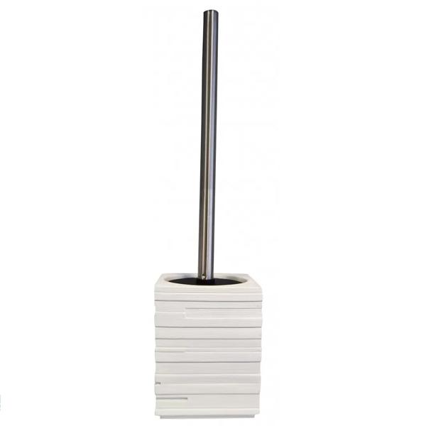 Ершик для унитаза Ridder Brick 22150401 Белый ершик для унитаза ridder colours 22280402 розовый