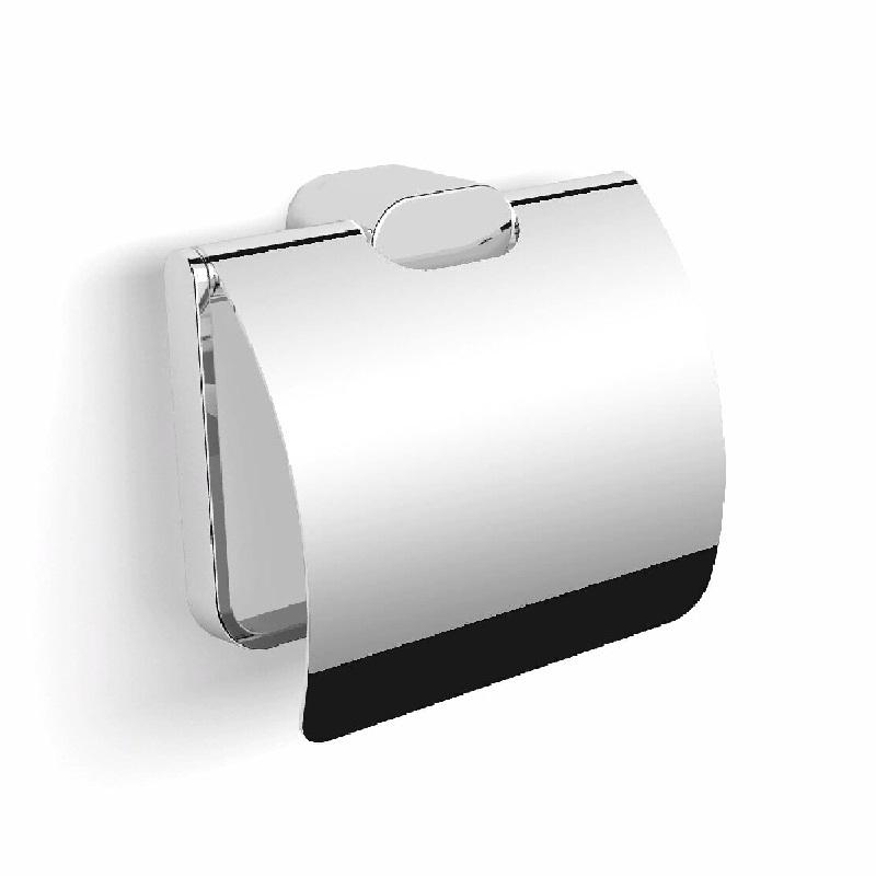 Фото - Держатель туалетной бумаги Langberger Lugano 24041A с крышкой Хром держатель туалетной бумаги langberger lugano хром 24043a