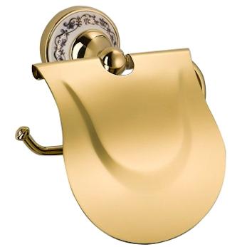 лучшая цена Держатель туалетной бумаги Schein Saine Gold 7053026VF Золото, Белый