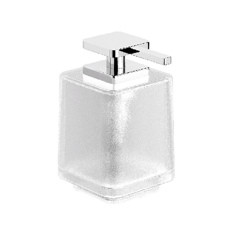 Дозатор для жидкого мыла Langberger Melvin 32021A-01-00 Матовый хром дозатор для жидкого мыла dornbracht square 83 430 910 00 хром