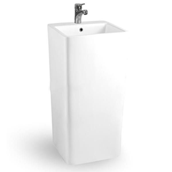 Раковина CeramaLux 41 P7004L Белая раковина ceramalux 55 561 белая