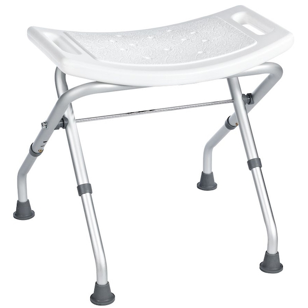 Табурет в ванную Ridder Assistent А0050301 Белый, Хром стул в ванну ridder assistent а00602101 белый хром