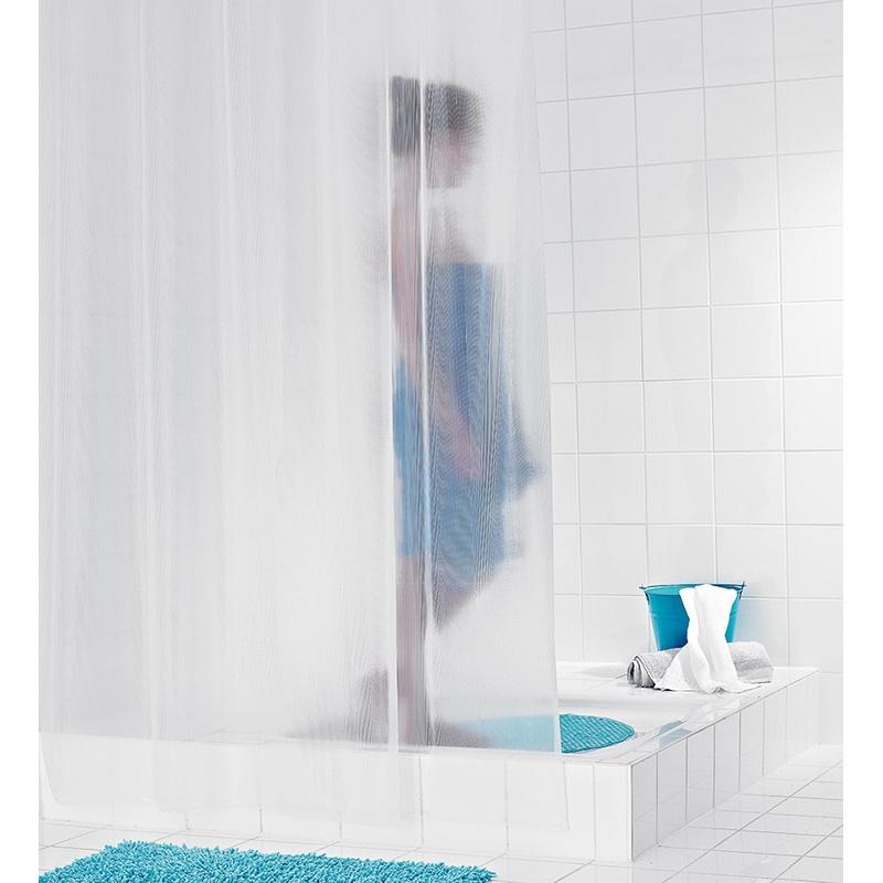 Штора для ванны Ridder Stripe 200х180 Полупрозрачная