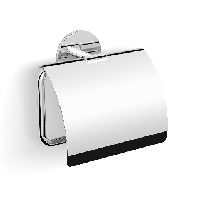 Фото - Держатель туалетной бумаги Langberger Molveno 30841A с крышкой Хром держатель туалетной бумаги langberger lugano хром 24043a