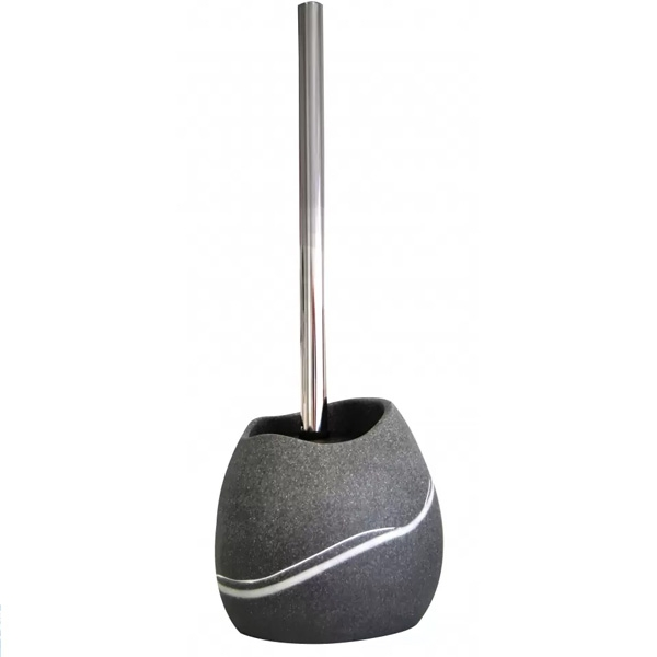Ершик для унитаза Ridder Little Rock 22190407 Серый ершик для унитаза ridder colours 22280407 серый