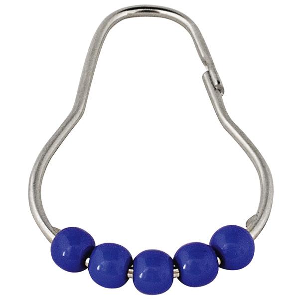 Кольца для карниза Ridder 49563 Хром Синий