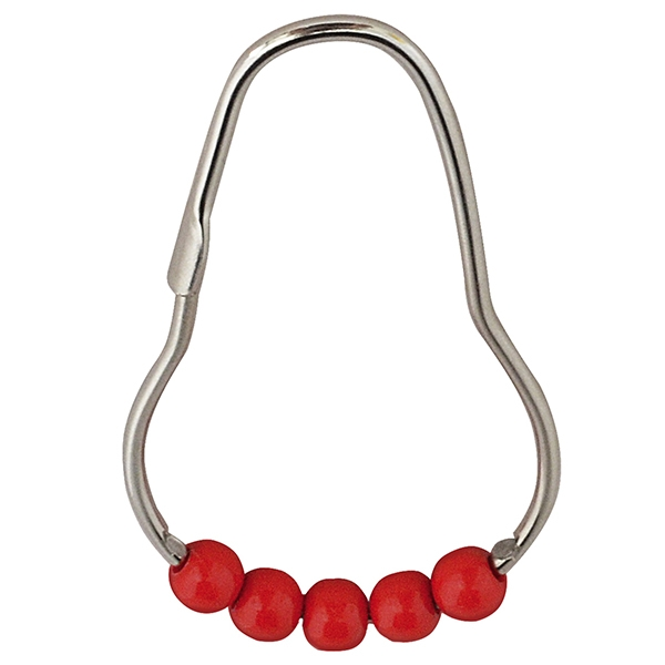 Кольца для карниза Ridder 49566 Хром Красный