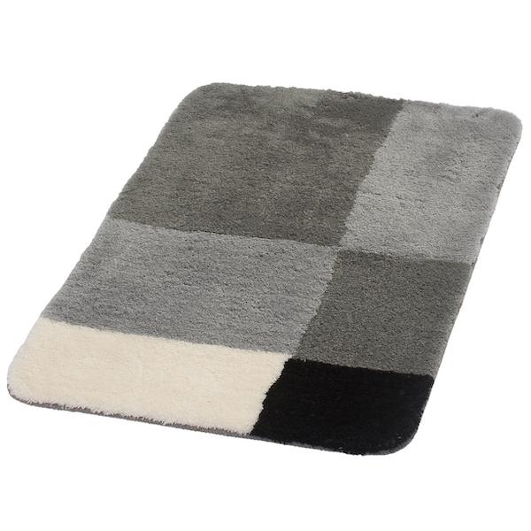 Коврик для ванной комнаты Ridder Pisa 70x120 Серый коврик для ванной комнаты ridder pisa 60x90 серый