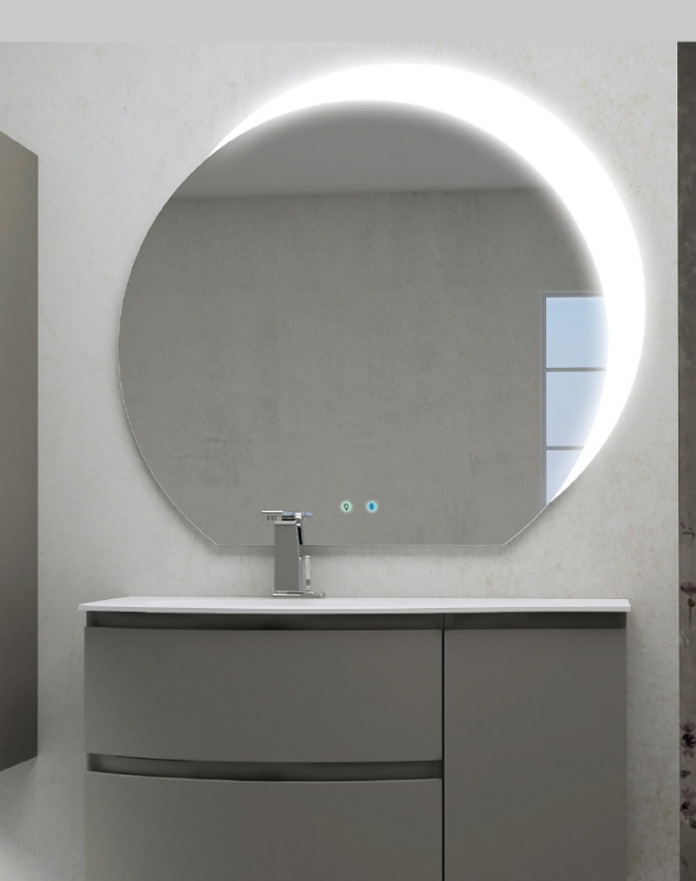 Зеркало Cezares 108 с увеличительным зеркалом и со встроенной LED подсветкой, Bluetooth с подсветкой
