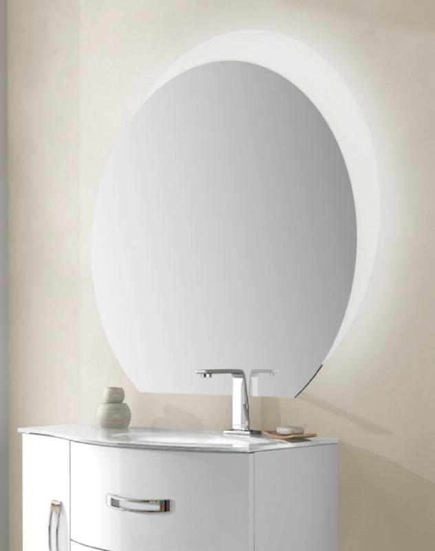 Зеркало Cezares 108 со встроенной LED подсветкой с LED подсветкой