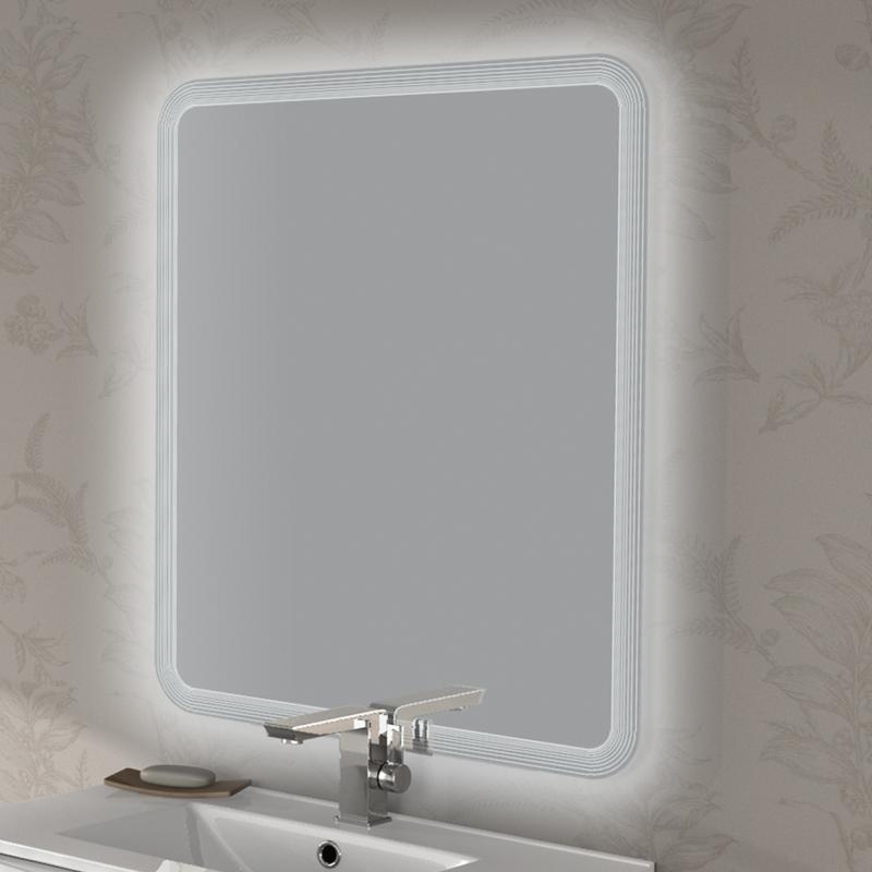Зеркало Cezares 74 со встроенной LED подсветкой с встроенной подсветкой