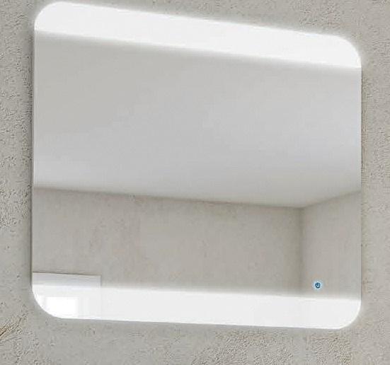 Зеркало Cezares 80 со встроенной LED подсветкой touch system с встроенной подсветкой
