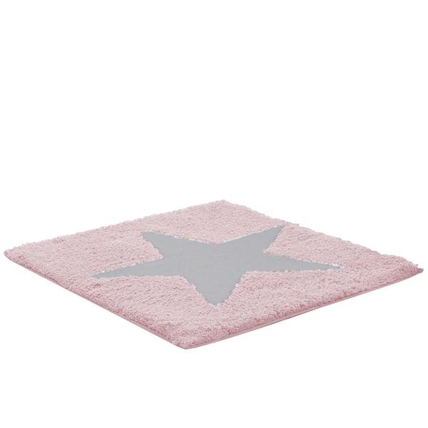Коврик для ванной комнаты Ridder Star 50x55 Розовый коврик для ванной комнаты ridder piedras 1103300 цветной