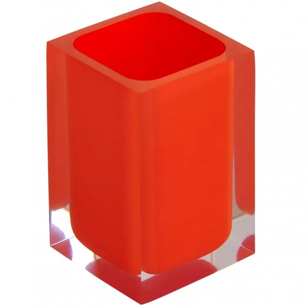 Стакан для зубных щеток Ridder Colours 22280114 Оранжевый