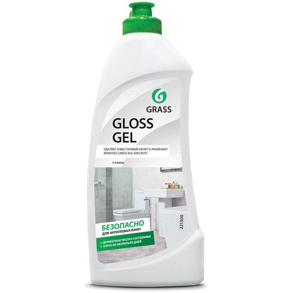 Фото - Универсальное чистящее средство Grass Gloss Gel 221500 500 мл универсальное чистящее средство dec с антибактериальным эффектом dec чист антибакт 0 5 500 мл