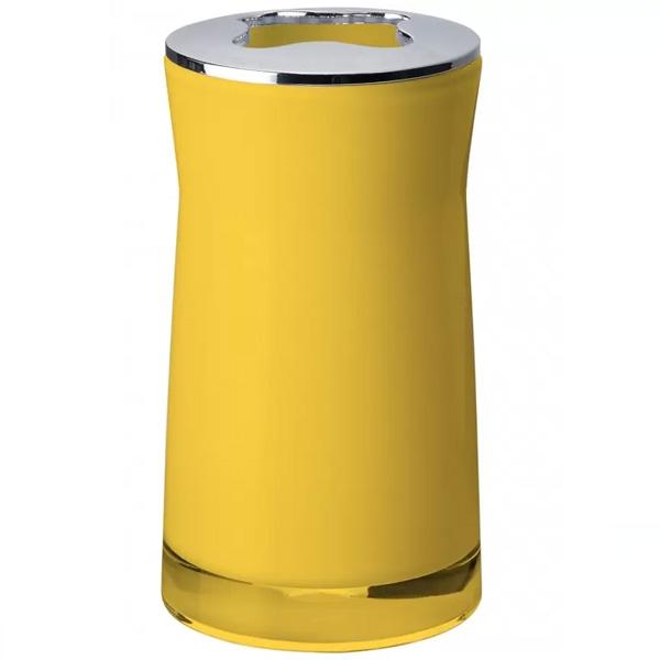 Стакан для зубных щеток Ridder Disco 2103204 Желтый
