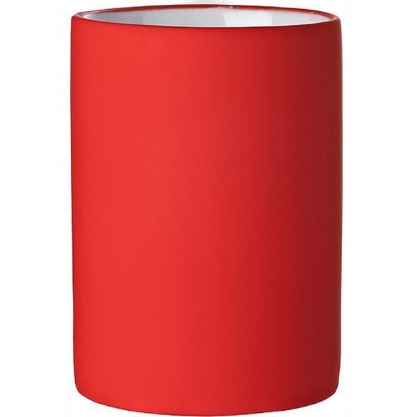 цена на Стакан для зубных щеток Ridder Elegance 22220106 Красный