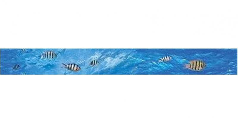 Керамический бордюр Ceramica Classic Ocean Deep B400D302 4,5х40 см