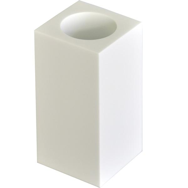 Стакан для зубных щеток Ridder Rom 22290101 Белый стакан для зубных щеток ridder paris белый