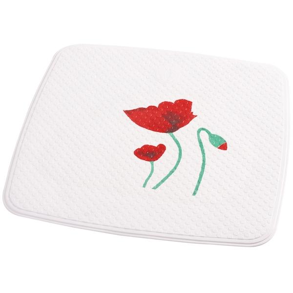 Коврик для душа Ridder Mohn 62210 Белый, Красный цены онлайн