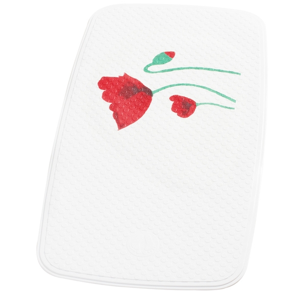 Коврик для ванны Ridder Mohn 62010 Белый, Красный цены онлайн