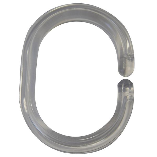 Кольца для карниза Ridder 49300 Прозрачный