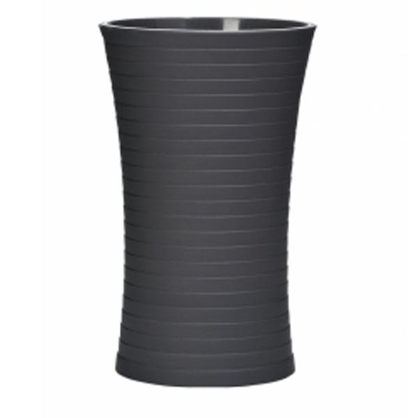 Стакан для зубных щеток Ridder Tower 22200110 Черный стакан для зубных щеток ridder diamond 22160110 черный