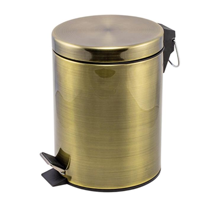 Контейнер для мусора Raiber RHB302 Бронза мусорное ведро 5 л raiber rhb302