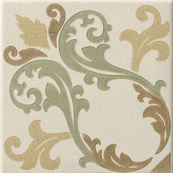 Керамический декор Vallelunga Rialto Beige+Painted Fondo Floreale Dec. Pav. G30075 15х15 см petracer s ad maiora fondo stuoiato nero 50x50