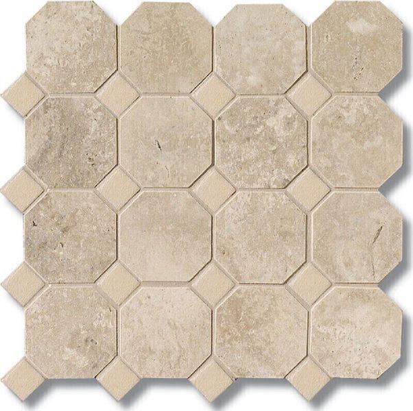 Керамическая плитка Vallelunga Rialto Beige+Painted Beige Ottagona G91463 напольная 30х30 см