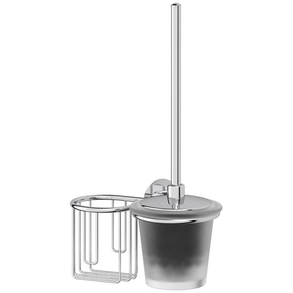 Фото - Держатель освежителя воздуха FBS Vizovice 058 Хром держатель освежителя воздуха с туалетным ершом с крышкой fbs vizovice viz 058