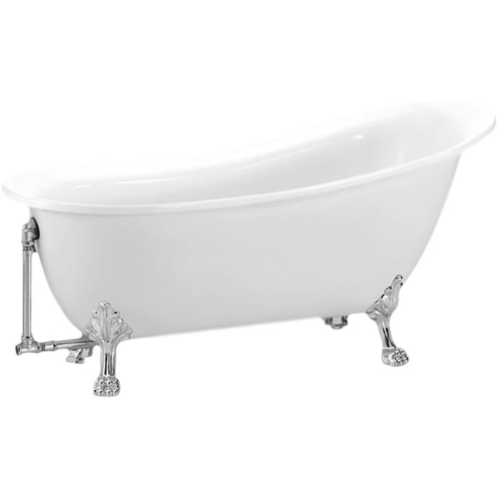 Акриловая ванна BelBagno BB06 170x76 Белая акриловая ванна belbagno 170x76 bb25