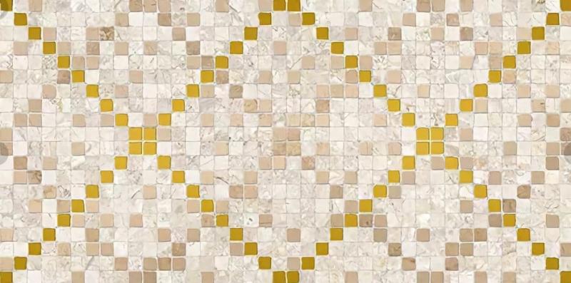 Керамический декор Ceramica Classic Arte бежевый 08-04-11-1370 20х40 см керамический декор ceramica classic петра с 3 мя вырезами бежевый 20х60 см