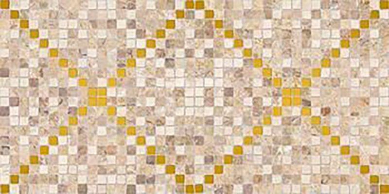 Керамический декор Ceramica Classic Arte темно-бежевый 08-04-11-1369 20х40 см керамический декор ceramica classic петра с 3 мя вырезами бежевый 20х60 см
