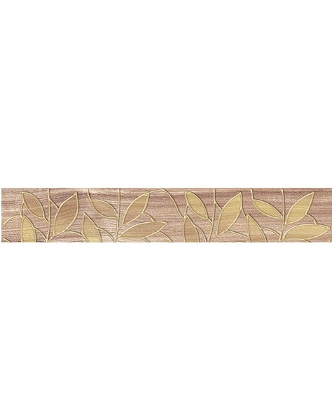 Фото - Керамический бордюр Ceramica Classic Bona темно-бежевый 66-03-11-1344 6,2х40 см керамический бордюр ceramica classic buhara бежевый 10х25 см