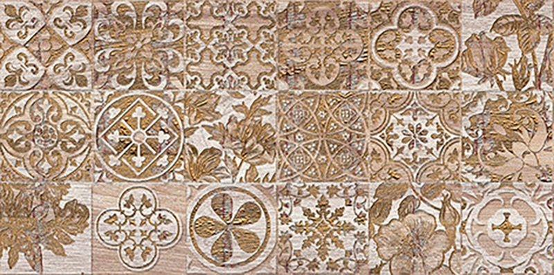 Керамический декор Ceramica Classic Bona If темно-бежевый 08-05-11-1344-6 20х40 см
