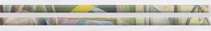 Керамический бордюр Ceramica Classic Frame белый 66-05-00-1368 6х40 см