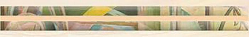Керамический бордюр Ceramica Classic Frame бежевый 66-05-11-1368 6х40 см стеклянная вставка ceramica classic мармара пальмира комплект серый 3шт компл 5 5х16 5 см
