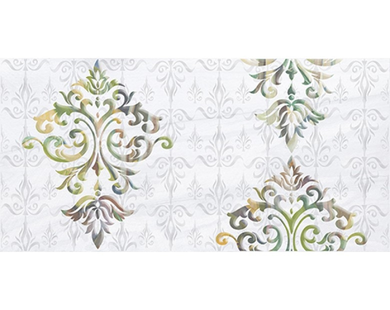 Керамический декор Ceramica Classic Frame белый 08-05-00-1368 20х40 см