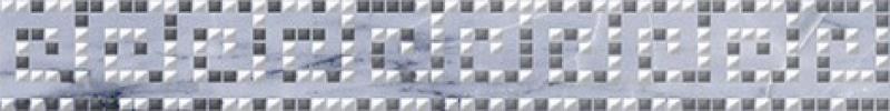 Керамический бордюр Ceramica Classic Natura Helias серый 66-03-06-1362 6х40 см