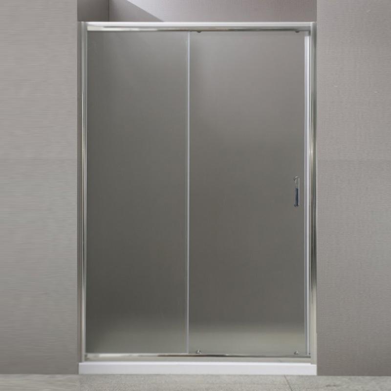 Душевая дверь BelBagno Uno BF-1 100 профиль Хром стекло прозрачное душевая дверь в нишу belbagno uno bf 1 100 профиль хром стекло прозрачное