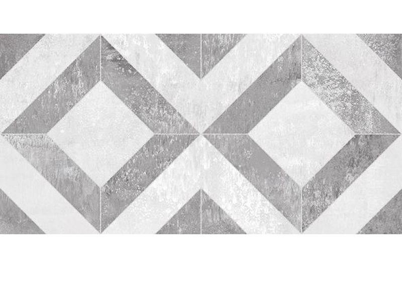 Керамическая плитка Ceramica Classic Troffi серый узор 08-01-06-1339 настенная 20х40 см стеклянная вставка ceramica classic мармара пальмира комплект серый 3шт компл 5 5х16 5 см