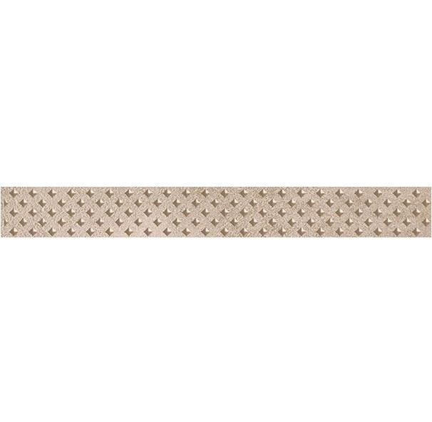 Керамический бордюр Ceramica Classic Versus Chic коричневый 46-03-15-1335 4х40 см керамический бордюр ceramica classic versus chic розовый 46 03 41 1335 4х40 см