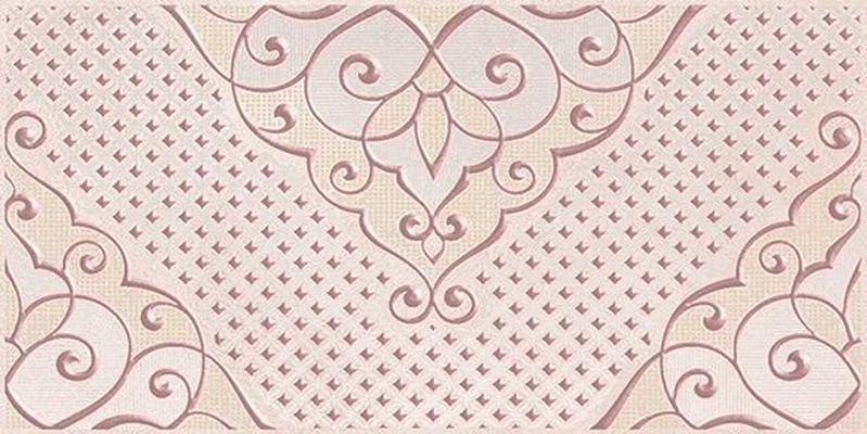Керамический декор Ceramica Classic Versus Chic розовый 08-03-41-1335 20х40 см керамический бордюр ceramica classic versus chic розовый 46 03 41 1335 4х40 см